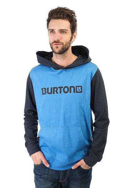 Толстовка кенгуру Burton Mns Cst Maxwell Fz Heather Cove<br><br>Цвет: серый,голубой<br>Тип: Толстовка кенгуру<br>Возраст: Взрослый<br>Пол: Мужской