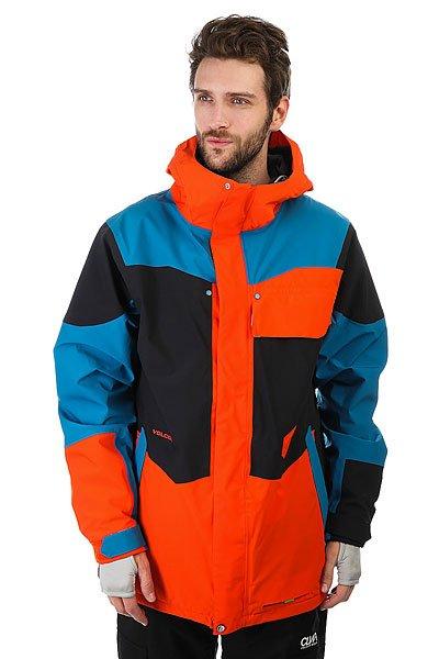 Куртка утепленная Volcom Sinc OrangeВысокотехнологичная куртка с теплой защитой TDS®, в которой можно кататься без перерыва, и даже поучаствовать в небольших соревнованиях.Технические характеристики: Эластичная ткань V-Science 2-layer 4-way.Теплая подкладка TDS® 2-layer.Полностью проклеенные швы.Крепление куртки к штанам Zip Tech®.Защита для лица TechTM.Капюшон с регулировкой.Отделка воротника из замши.Вентиляционные молнии с сеточной подкладкой.Эластичная снежная юбка.Манжеты на липучках V-Science 2-way.Эластичные внутренние манжеты из лайкры.Теплые карманы для рук.Карман для маски и MP3.Свисток на молнии.Подол на утяжке.Застежка на молнии с ветрозащитным клапаном на липучках.<br><br>Цвет: оранжевый,синий,черный<br>Тип: Куртка утепленная<br>Возраст: Взрослый<br>Пол: Мужской