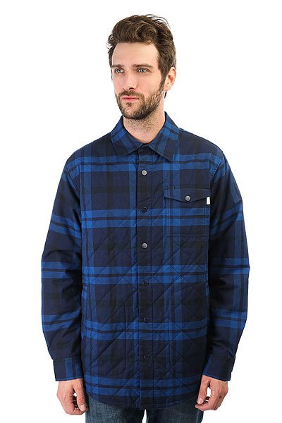 Рубашка утепленная Burton Mb Bellow Flannel Nightrider Hrnss Pld