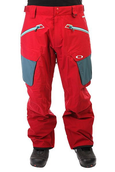 Штаны сноубордические Oakley Fairhaven Pant New Crimson