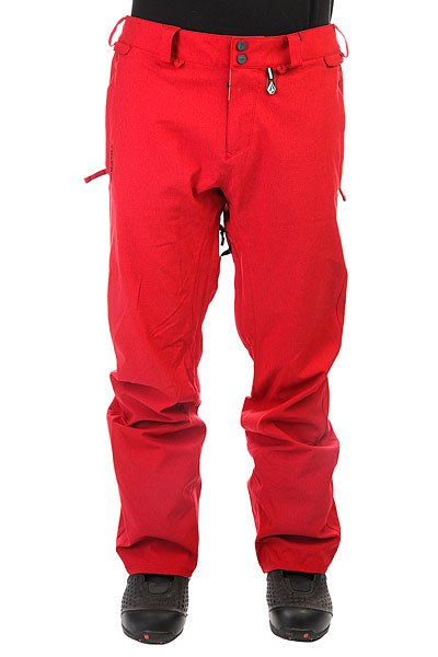 Штаны сноубордические Volcom Freakin Snow Chino Pant Red