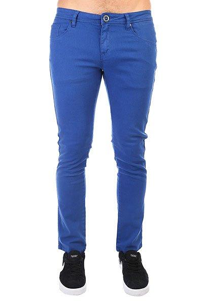 Штаны прямые Volcom Chili Chocker Color Jean True Blue<br><br>Цвет: синий<br>Тип: Штаны прямые<br>Возраст: Взрослый<br>Пол: Мужской