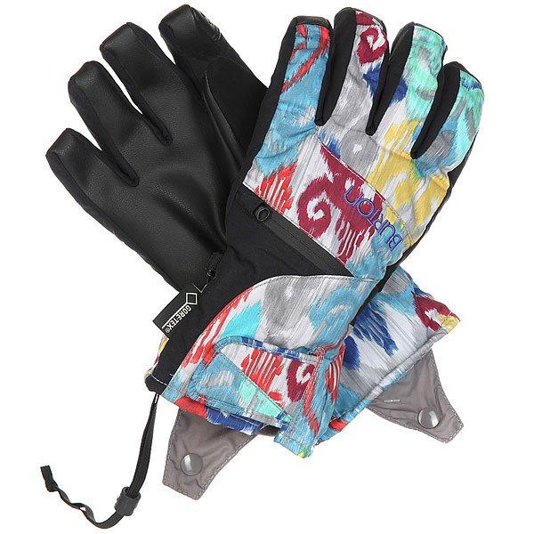 Перчатки сноубордические женские Burton Gore Undgl Kasbah<br><br>Цвет: мультиколор<br>Тип: Перчатки сноубордические<br>Возраст: Взрослый<br>Пол: Женский