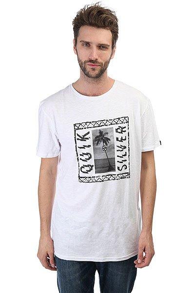 Футболка Quiksilver Jazzy White футболка quiksilver dontsnakmyvibss white