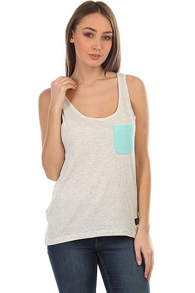 Фото #1: Майка женская DC Sand Yusky Tank Light Grey Heather