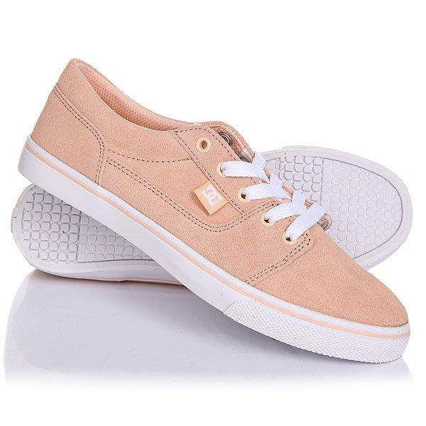 цены на Кеды кроссовки низкие женские DC Tonik W Se Peach Cream в интернет-магазинах