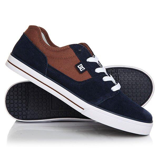 Кеды кроссовки низкие детские DC Tonik Brown/Blue