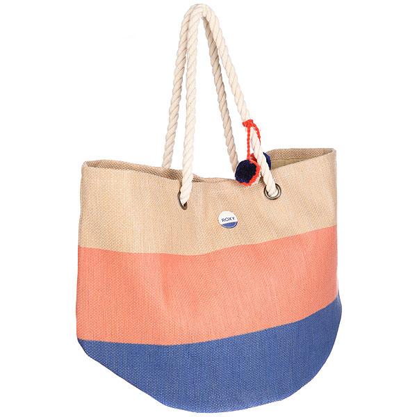 Сумка женская Roxy Sun Seeker Neon GrapefruitДополните свой яркий летний образ этой большой пляжной сумкой из текстиля от культового бренда Roxy! Характеристики:Основное вместительное отделение на молнии. Удобные лямки. Контрастная окантовка. Внутренний кармашек на молнии.Текстильная подкладка.<br><br>Цвет: мультиколор<br>Тип: Сумка<br>Возраст: Взрослый<br>Пол: Женский