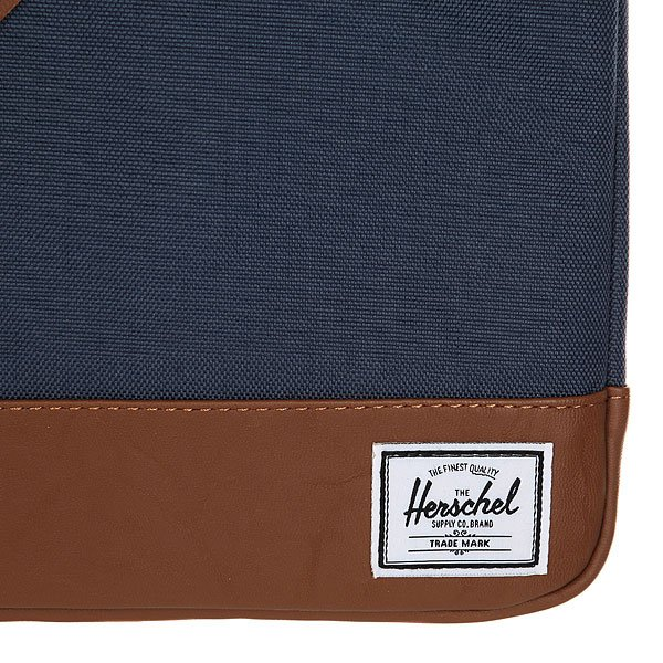 Чехол для ноутбука Herschel Heritage Sleeve For Macbook Navy/Tan Synthetic Leather от Proskater