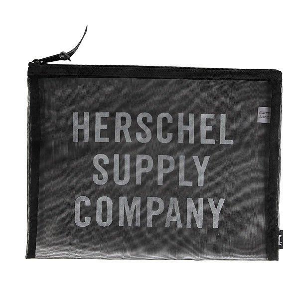 Сумка для документов Herschel Network Xl Black Mesh