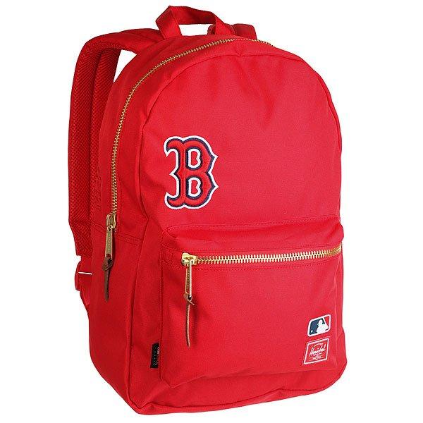 Рюкзак городской Herschel Settlement Boston Red Sox<br><br>Цвет: красный<br>Тип: Рюкзак городской<br>Возраст: Взрослый<br>Пол: Мужской