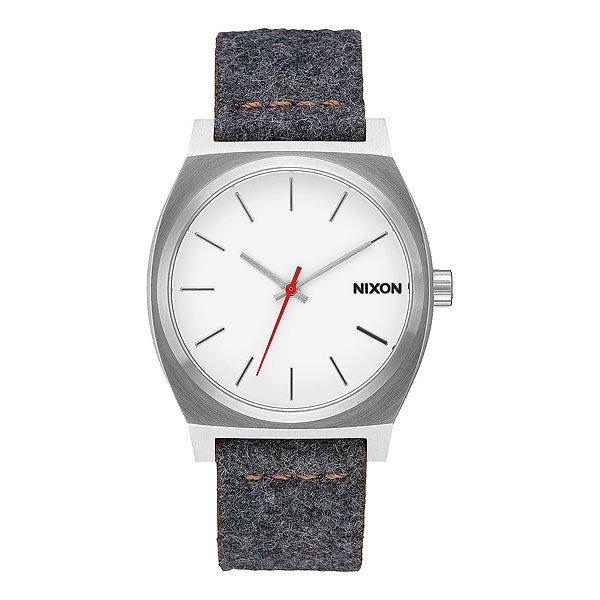 Кварцевые часы Nixon Time Teller Gray/Tan<br><br>Цвет: серый<br>Тип: Кварцевые часы<br>Возраст: Взрослый<br>Пол: Мужской