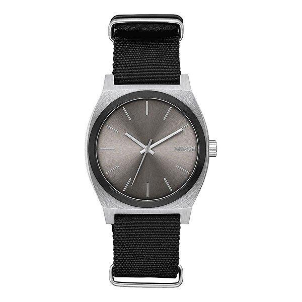 Кварцевые часы Nixon Time Teller Gunmetal Sunray/Black часы nixon corporal ss matte black industrial green