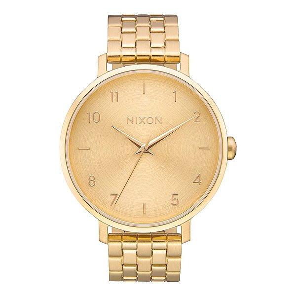 Кварцевые часы женские Nixon Arrow Gold недорго, оригинальная цена