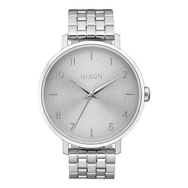 Кварцевые часы женские Nixon Arrow Silver часы nixon corporal ss all black