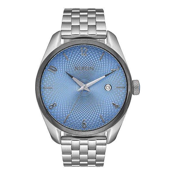 Кварцевые часы женские Nixon Bullet Silver/Sky/Gunmetal nixon часы nixon a418 2129 коллекция bullet