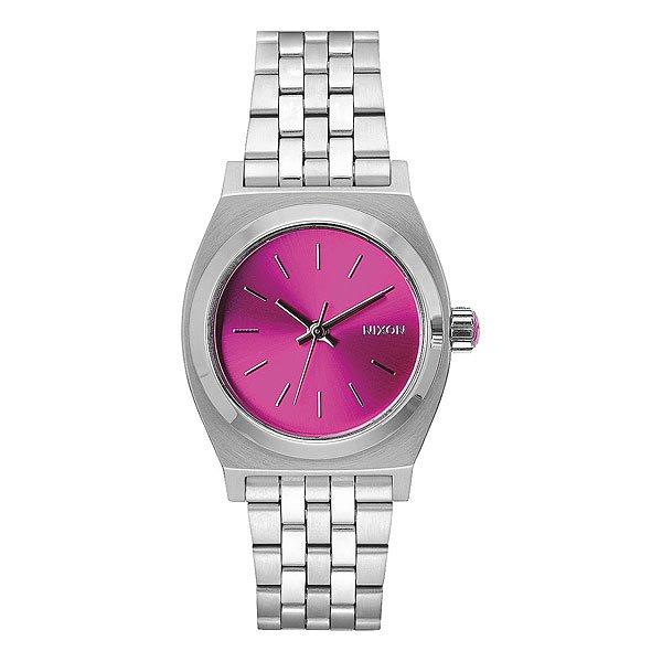 Кварцевые часы женские Nixon Medium Time Teller Pink Sunray