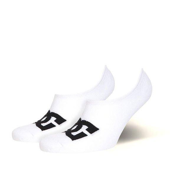 Носки низкие DC No Sho 6 3pk White<br><br>Цвет: белый<br>Тип: Носки низкие<br>Возраст: Взрослый<br>Пол: Мужской