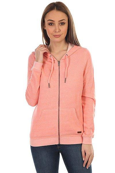 Толстовка классическая женская Roxy Signature Lady Pink<br><br>Цвет: розовый<br>Тип: Толстовка классическая<br>Возраст: Взрослый<br>Пол: Женский