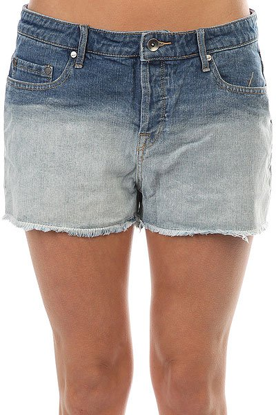 Шорты джинсовые женские Roxy Lovelydeep Dye J Dnst Medium Blue<br><br>Цвет: синий<br>Тип: Шорты джинсовые<br>Возраст: Взрослый<br>Пол: Женский
