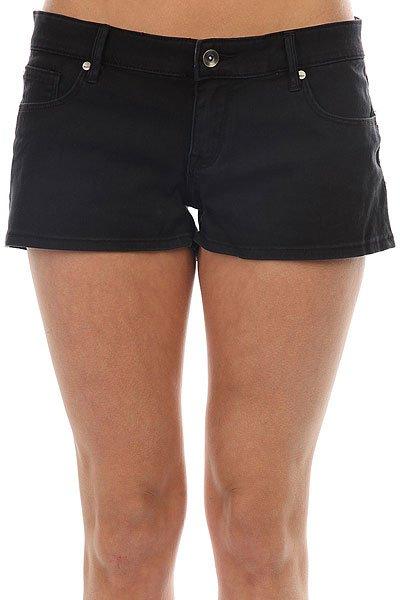 Шорты джинсовые женские Roxy Andalousia Anthracite<br><br>Цвет: черный<br>Тип: Шорты джинсовые<br>Возраст: Взрослый<br>Пол: Женский