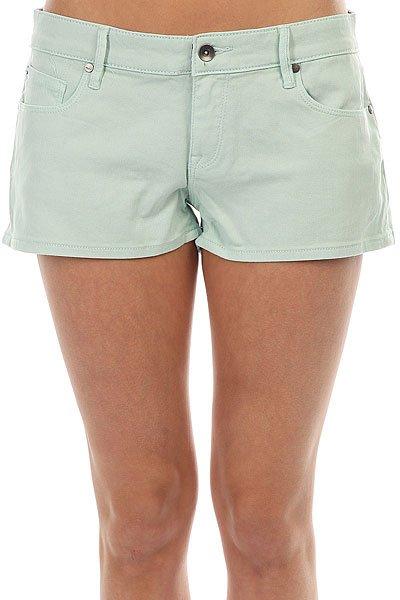 Шорты джинсовые женские Roxy Andalousia Bleached Aqua<br><br>Цвет: голубой<br>Тип: Шорты джинсовые<br>Возраст: Взрослый<br>Пол: Женский
