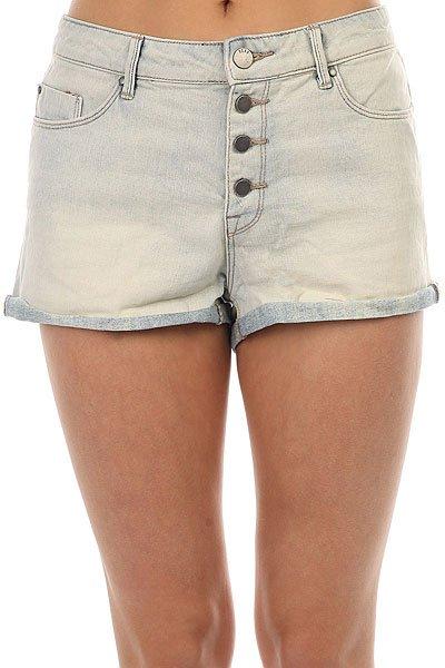 Шорты джинсовые женские Roxy Way Back Bleached Blue сарафаны kidonly сарафан