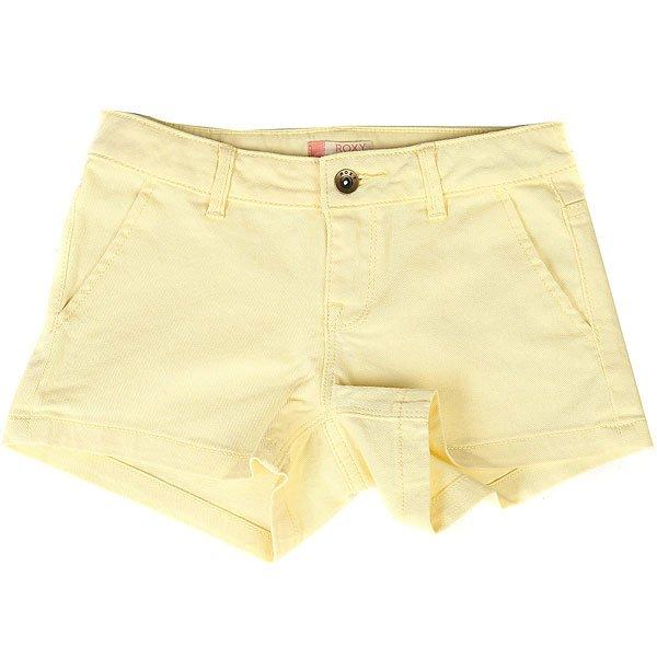 Шорты джинсовые детские Roxy Sunsetclouds Double Cream<br><br>Цвет: желтый<br>Тип: Шорты джинсовые<br>Возраст: Детский