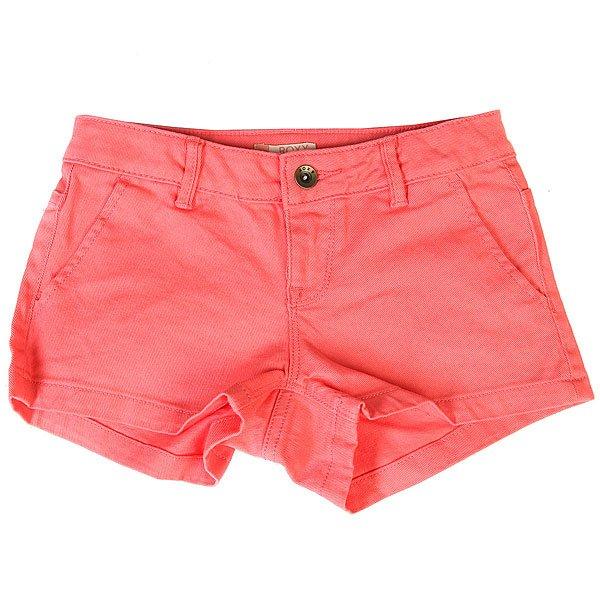 Шорты джинсовые детские Roxy Sunsetclouds Sugar Coral<br><br>Цвет: розовый<br>Тип: Шорты джинсовые<br>Возраст: Детский