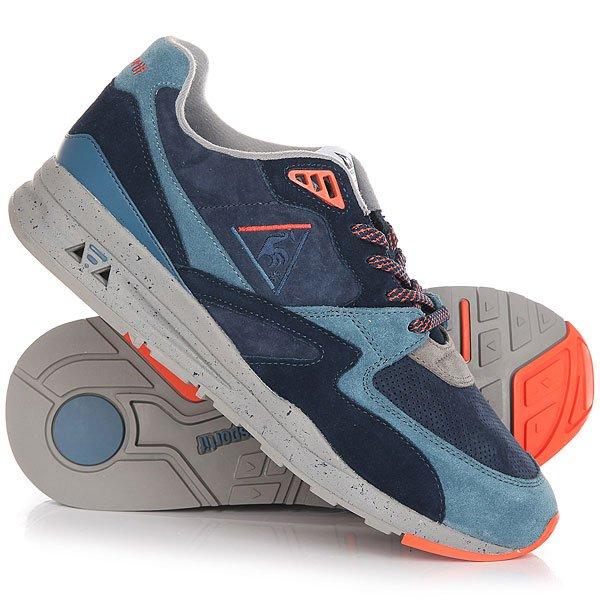 Кроссовки Le Coq Sportif Lcs R 800 90s Outdoor Dress Blue/Tigerl<br><br>Цвет: синий,голубой<br>Тип: Кроссовки<br>Возраст: Взрослый<br>Пол: Мужской