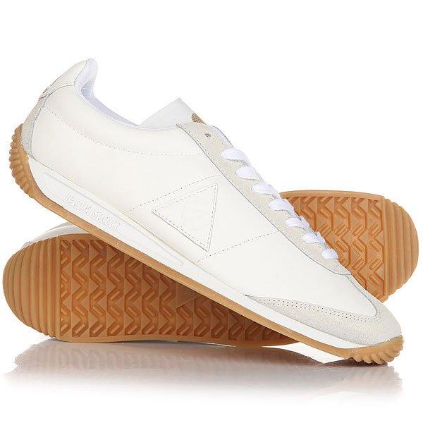 Кроссовки Le Coq Sportif Quartz Lea Optical White<br><br>Цвет: белый<br>Тип: Кроссовки<br>Возраст: Взрослый<br>Пол: Мужской