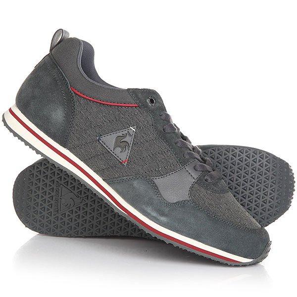 Кроссовки Le Coq Sportif Bolivar Cft 2tones/Suede Black/Charcoal кроссовки le coq sportif dynacomf text black