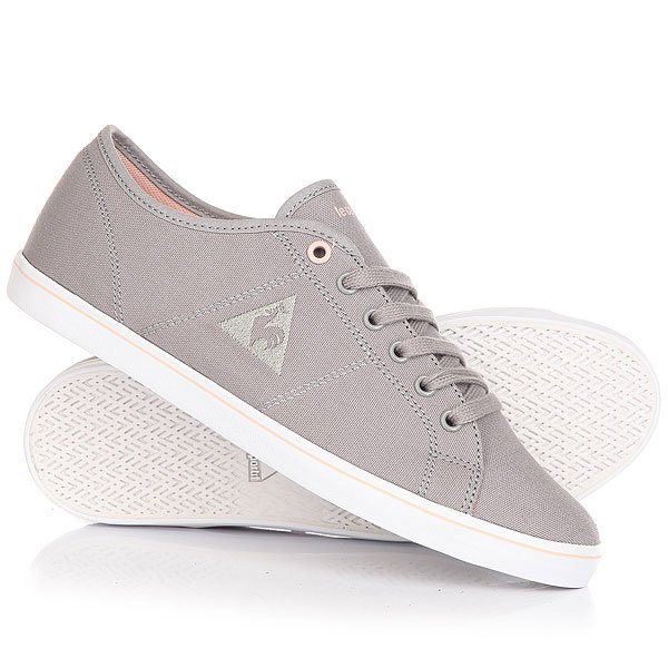 Кеды кроссовки низкие женские Le Coq Sportif Setone Cvs Titanium/Rose Cloud кеды кроссовки высокие le coq sportif portalet mid craft hvy cvs suede dress