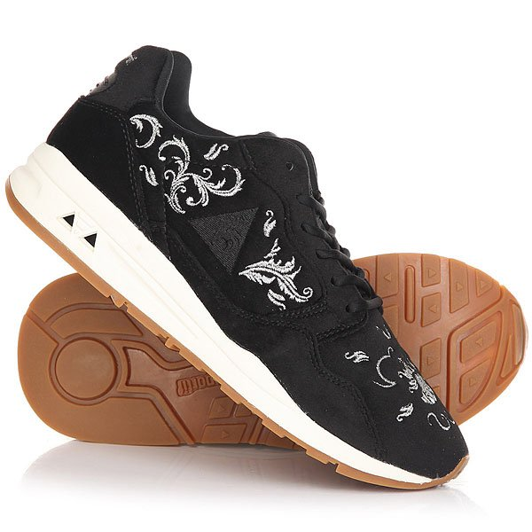 Кроссовки женские Le Coq Sportif Lcs R900 Embroidery Black/Silver