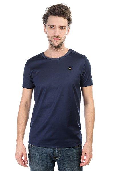 Футболка Le Coq Sportif Lcs Curva Dress Blues<br><br>Цвет: синий<br>Тип: Футболка<br>Возраст: Взрослый<br>Пол: Мужской