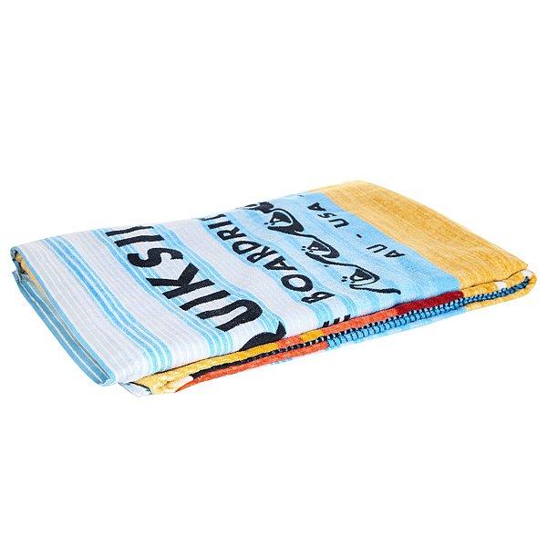 Полотенце Quiksilver Freshness Nasturtium<br><br>Цвет: мультиколор,голубой<br>Тип: Полотенце<br>Возраст: Взрослый<br>Пол: Мужской