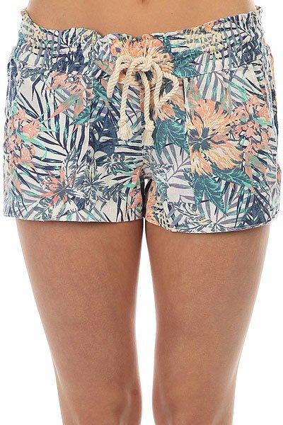 цена  Шорты классические женские Roxy Oceansidesrtpri Marshmallow Beyond  онлайн в 2017 году
