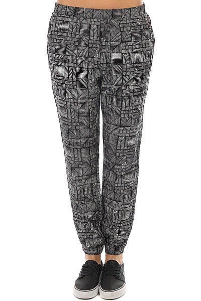 цены на Штаны прямые женские Roxy Easy Peasy Pant Anthracite Beachouse в интернет-магазинах