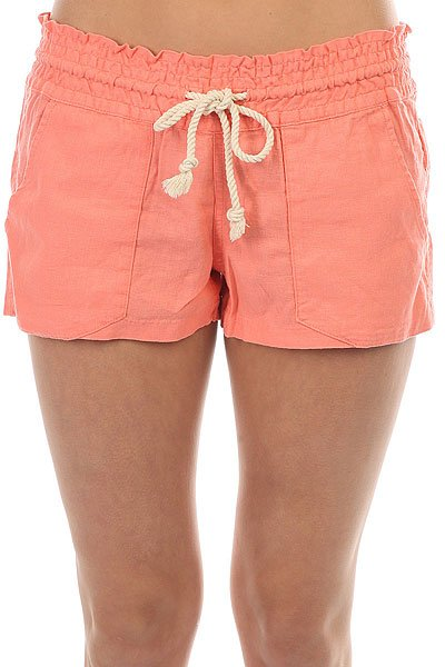 Шорты классические женские Roxy Oceanside Short Lady Pink<br><br>Цвет: розовый<br>Тип: Шорты классические<br>Возраст: Взрослый<br>Пол: Женский