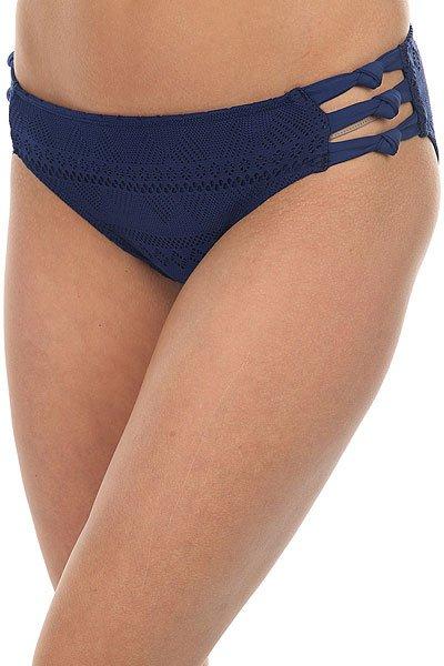 Плавки женские Roxy Drop Diam Kn70 Blue Depths<br><br>Цвет: синий<br>Тип: Плавки<br>Возраст: Взрослый<br>Пол: Женский