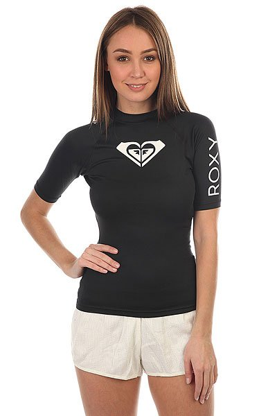 Гидрофутболка женская Roxy Wholeheartss Black