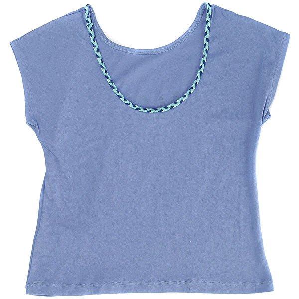 Толстовка классическая детская Roxy Walkingdreams Persian Jewel<br><br>Цвет: голубой<br>Тип: Толстовка классическая<br>Возраст: Детский