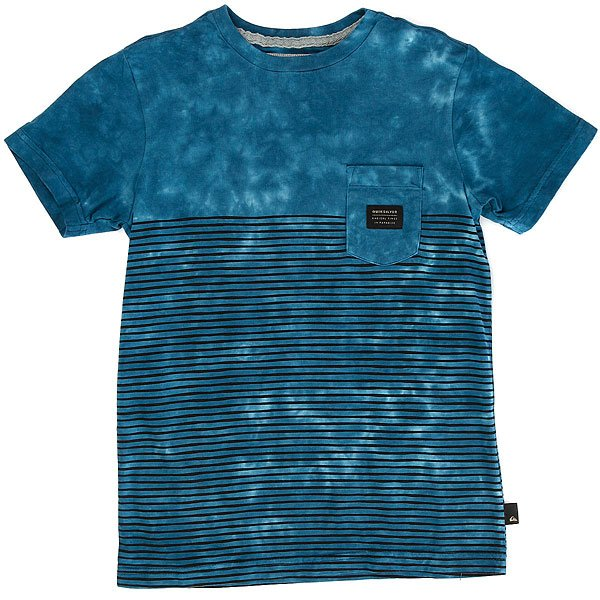 Футболка детская Quiksilver Xbloobyouth Estate Blue