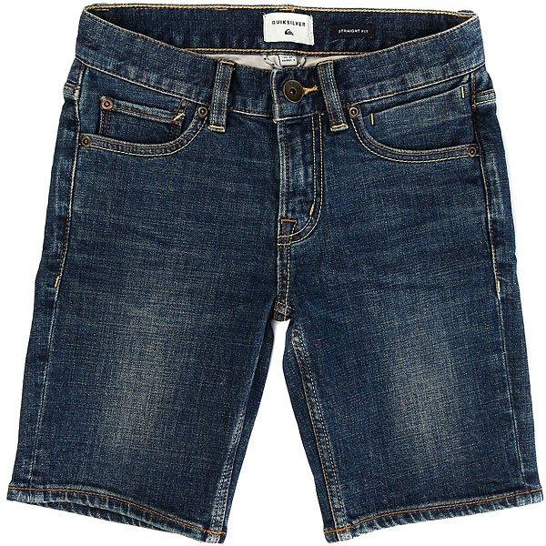 Шорты джинсовые детские Quiksilver Fonicfshcreayth Creamy<br><br>Цвет: синий<br>Тип: Шорты джинсовые<br>Возраст: Детский