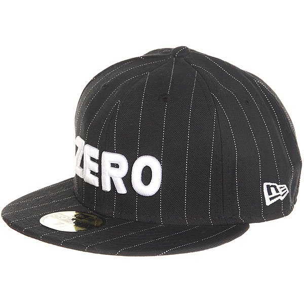 Бейсболка с прямым козырьком Zero Army Pinstripe<br><br>Цвет: черный<br>Тип: Бейсболка с прямым козырьком<br>Возраст: Взрослый