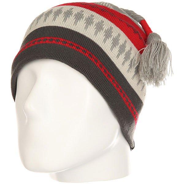 Шапка Marmot Saami Beanie Steel<br><br>Цвет: серый,красный,бежевый<br>Тип: Шапка<br>Возраст: Взрослый<br>Пол: Мужской