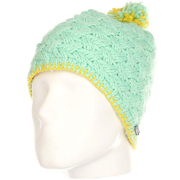 Шапка женская Marmot Denise Hat Green Frost<br><br>Цвет: зеленый<br>Тип: Шапка<br>Возраст: Взрослый<br>Пол: Женский