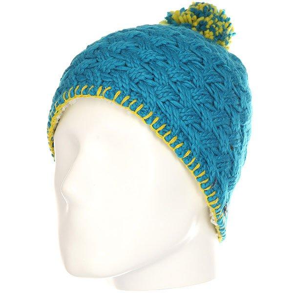 Шапка женская Marmot Denise Hat Aqua Blue<br><br>Цвет: синий<br>Тип: Шапка<br>Возраст: Взрослый<br>Пол: Женский