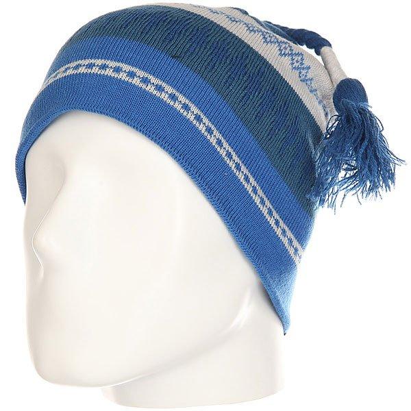 Шапка Marmot Saami Beanie Blue Sapphire<br><br>Цвет: синий,серый<br>Тип: Шапка<br>Возраст: Взрослый<br>Пол: Мужской