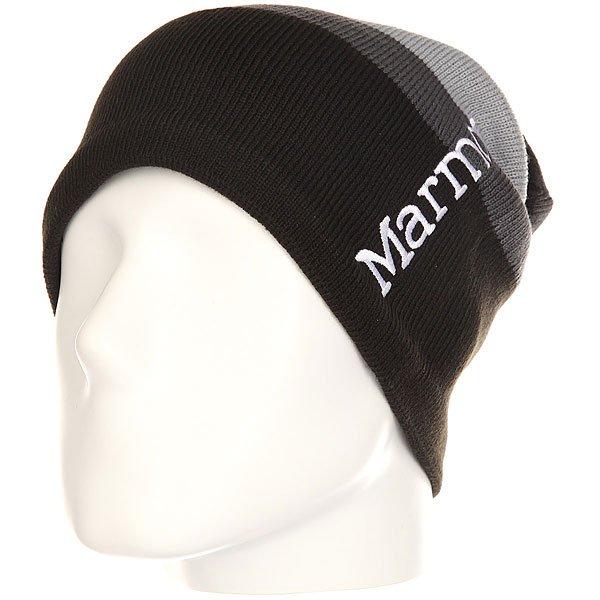 Шапка носок Marmot Ryan Hat Black<br><br>Цвет: черный,серый<br>Тип: Шапка носок<br>Возраст: Взрослый<br>Пол: Мужской